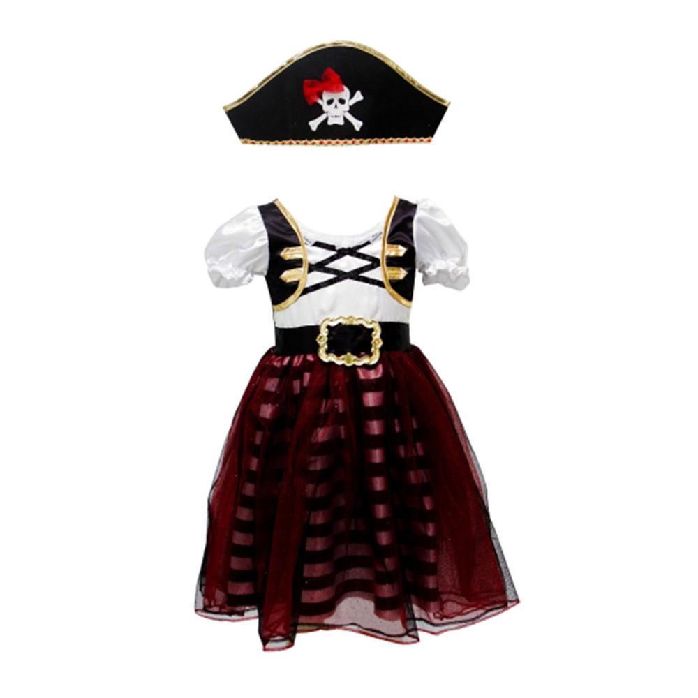 Disfraz Niña de Pirata 104-110