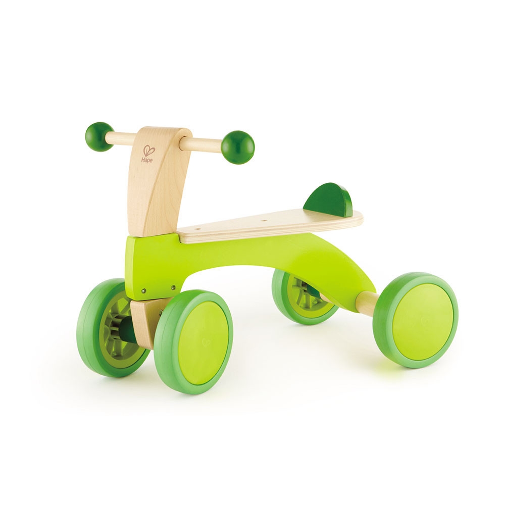 Triciclo de Madera Infantil Verde Hape Regalos Delivery