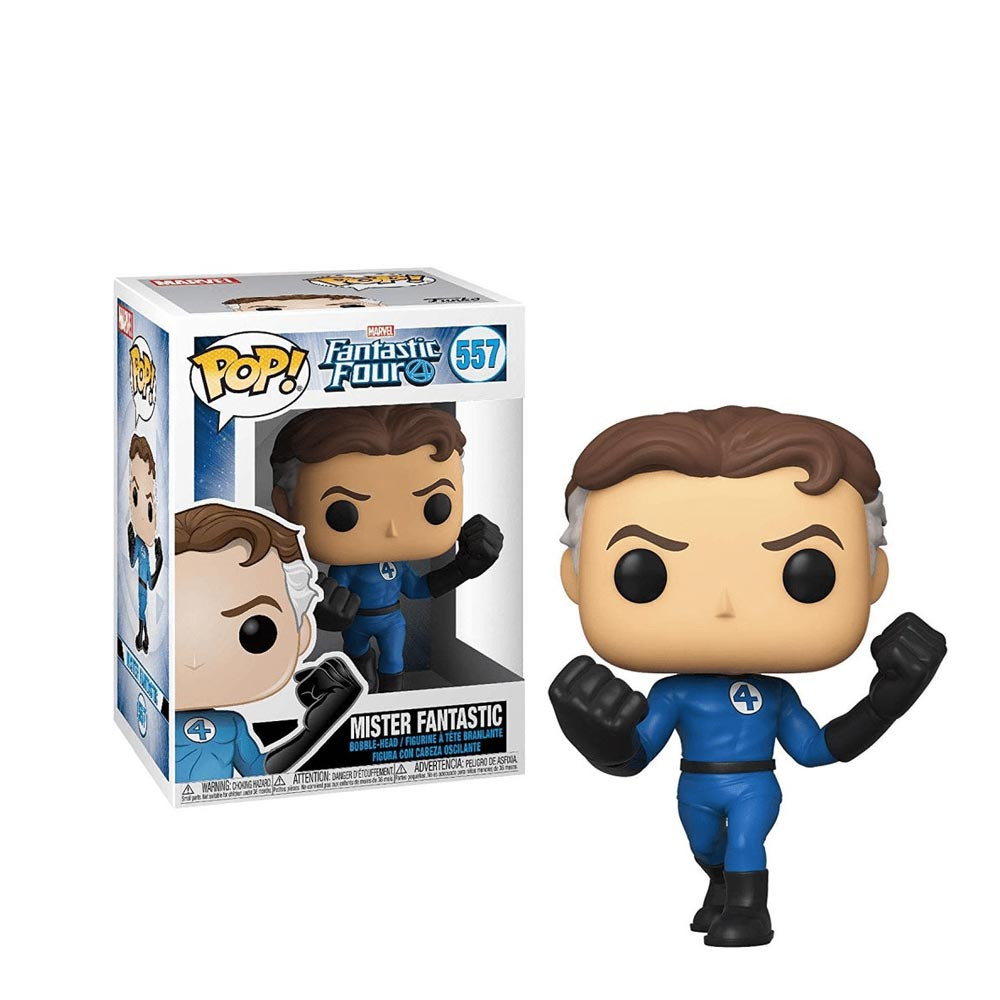 Funko Pop Marvel Fantastic Four Mister Fantastic Regalos Delivery